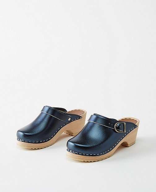 Girls Swedish Clogs By Hanna