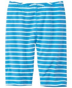 Opposite Stripe Bike Shorts