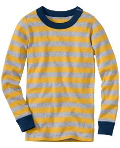 Long John Pajama Top In Organic Cotton