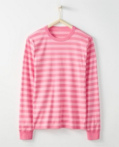 Adult Long John Pajama Top In Organic Cotton by Hanna Andersson