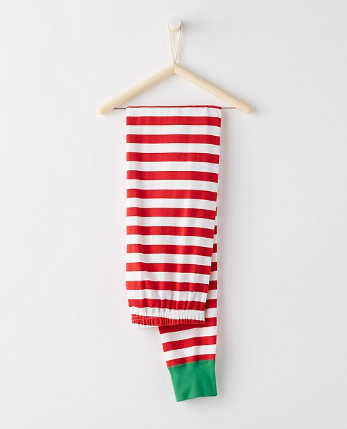 Long John Pajama Pants In Organic Cotton by Hanna Andersson