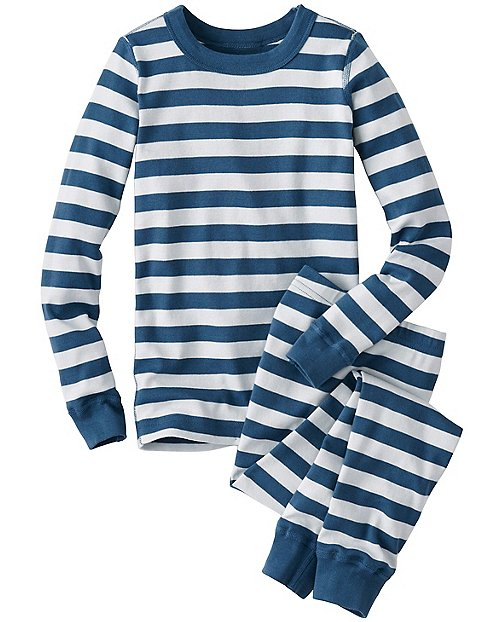 Kids Long John Pajamas In Organic Cotton | Pajamas Long Johns