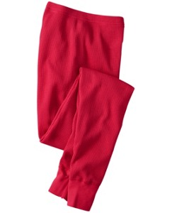 Thermal Long John Pajama Pants In Organic Cotton by Hanna Andersson