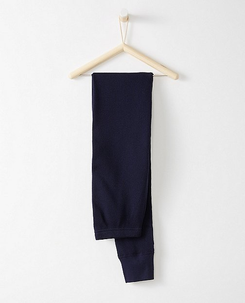 Adult Thermal Long John Pajama Pants In Organic Cotton by Hanna Andersson