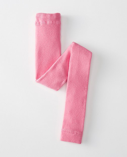 Kids Signature Ribbed Ankle Tights by Hanna Andersson