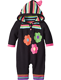Save $23 - Hoodie Baby Romper $35