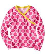 Crossover Pajama Top In Organic Cotton
