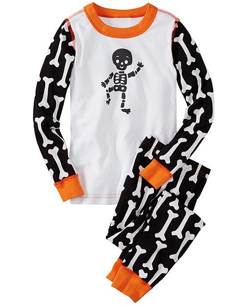 EEK!-O-Friendly Long John Pajamas In Organic Cotton by Hanna Andersson