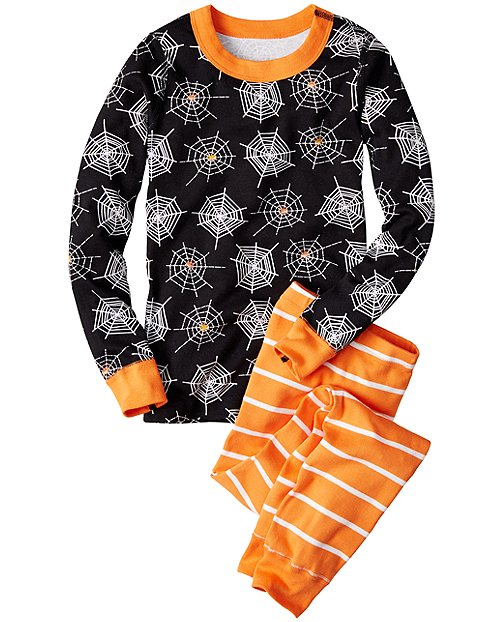 EEK!-O-Friendly Long John Pajamas In Organic Cotton by Hanna Andersson