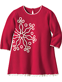 Save $10.4 - Snowflake Sweater Dress $41.6