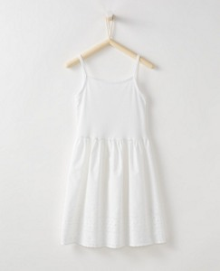 Pure Cotton Eyelet Slip by Hanna Andersson