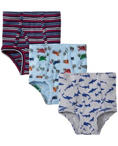 Boys Unders 3 Pack In Organic Cotton by Hanna Andersson