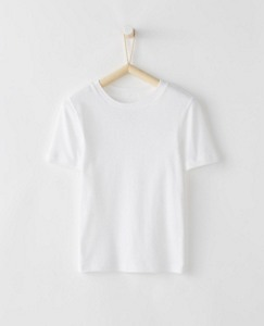 Crew Undershirt In Organic Cotton