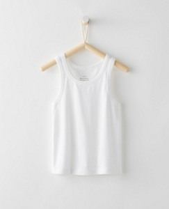 Tank Undershirt In Organic Cotton