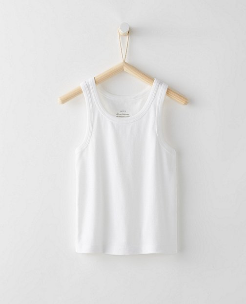 Boys Tank Undershirt In Organic Cotton by Hanna Andersson