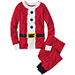 St. Nick & Elf Long John Pajamas In Organic Cotton