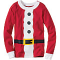 Adult St. Nick & Elf Long John Top In Organic Cotton