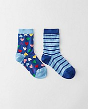 Kids Mix A Lot Socks 2 pack by Hanna Andersson