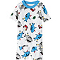 Short John Pajamas in Organic Cotton