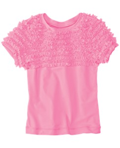 Ruffly Rash Guard Tee