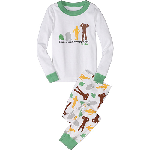 Star Wars Yoda & Friends Long John Pajamas
