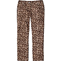 Not So Skinnies In Leopard Twill
