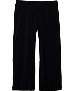 Stretch Jersey Cropped Pants