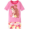 Disney® Belle Short John Pajamas
