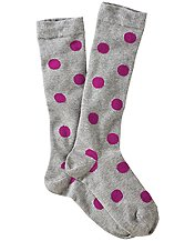 Pitter Pattern Knee Socks