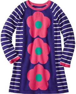 Flower Power Sweater Dress