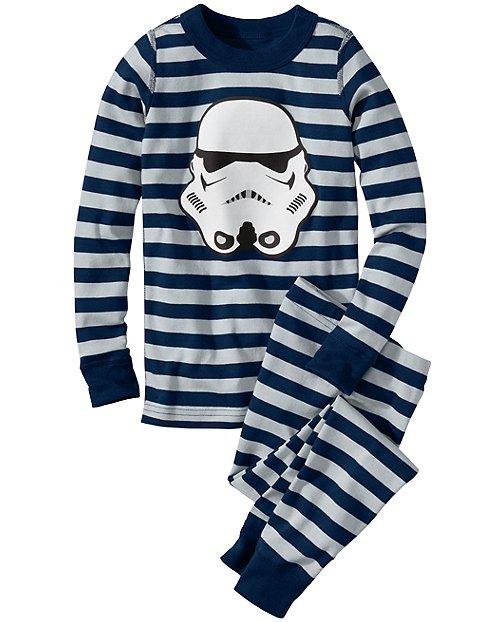 Star Wars™ Stormtrooper Long John Pajamas by Hanna Andersson