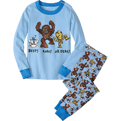 Star Wars™ Robots Long John Pajamas