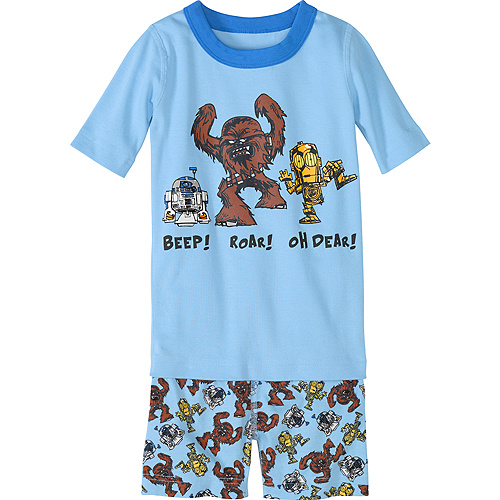 Star Wars™ Robots Short John Pajamas