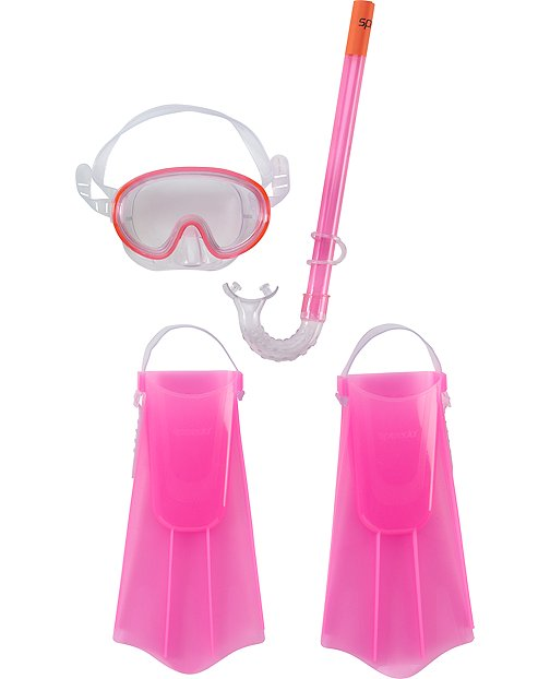 Speedo® Swim Mask, Snorkel and Fin Set by Hanna Andersson