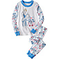 Disney Cinderella Stripe Long John Pajamas