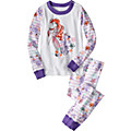 Disney Ariel Stripe Long John Pajamas