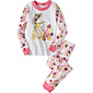 Disney Belle Stripe Long John Pajamas