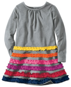 Lotsa Ruffles Tunic Dress
