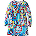 Geo Flower Tunic Dress