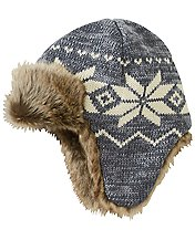 Fur Trim Trapper Hat