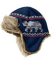 Fur Trim Trapper Hat
