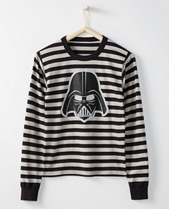 Adult Star Wars™ Long John Pajama Top In Organic Cotton by Hanna Andersson