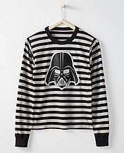Star Wars™ Adult Long John Pajama Top In Organic Cotton by Hanna Andersson