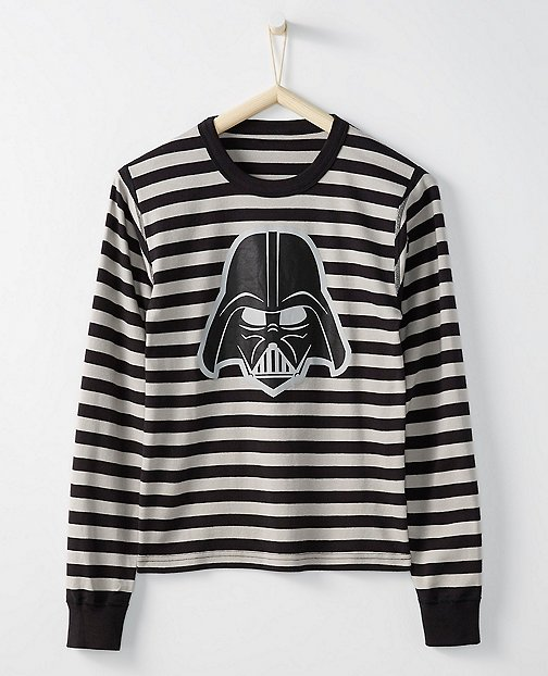 Star Wars™ Long John Pajama Top In Organic Cotton For Adults by Hanna Andersson