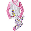 Disney Princess Rapunzel Long John Pajamas