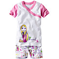 Disney Princess Rapunzel Short John Pajamas