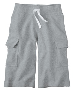 Cropped Sweats In 100% Cotton