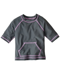 Sun-Ready Rash Guard Tee
