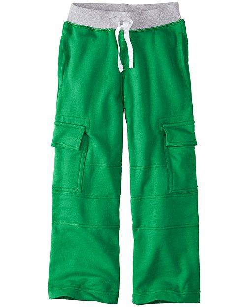 Boys Very Güd Double Knee Cargo Sweats by Hanna Andersson