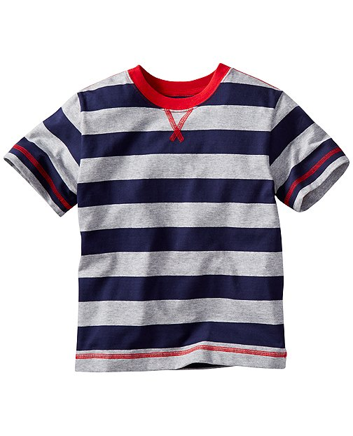 Bold Stripe Tee by Hanna Andersson